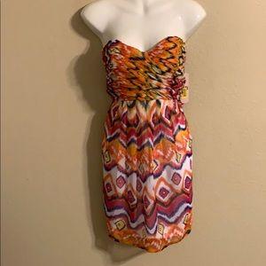 GB Gianni Bini strapless dress medium NWT
